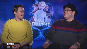 Frozen 2 stars Josh Gad and Jonathan Groff