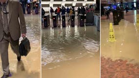 Metro delays after flooding reported at Pentagon Station