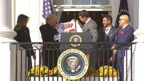 World Series champ Nationals take celebration to White House