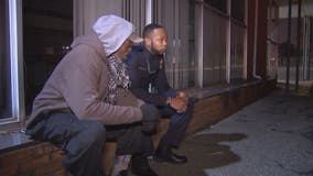 Prince George's County cop, cancer survivor reaches out to homeless with a helping hand