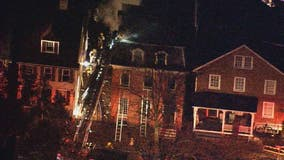 Early morning fire breaks out in historic area of Annapolis
