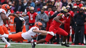 Maryland running back arrested on driving under the influence charge