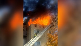 Nine displaced after Logan Circle apartment blaze