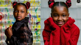 Chicago photographer takes pictures for girl who was denied by school for hair extensions