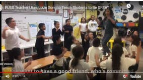 East Bay teacher uses Lizzo song to teach kids they're great