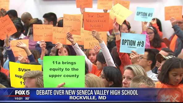 Debate over new Seneca Valley HS
