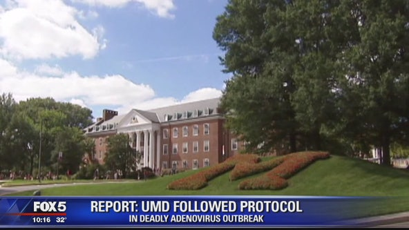 Report: UMD followed protocol in deadly adenovirus outbreak