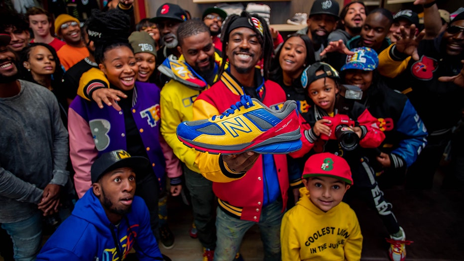 DC-based boutique EAT joined forces with New Balance to launch a 990 collection shoe that captures the city's essence while inspiring youth and motivating people.
