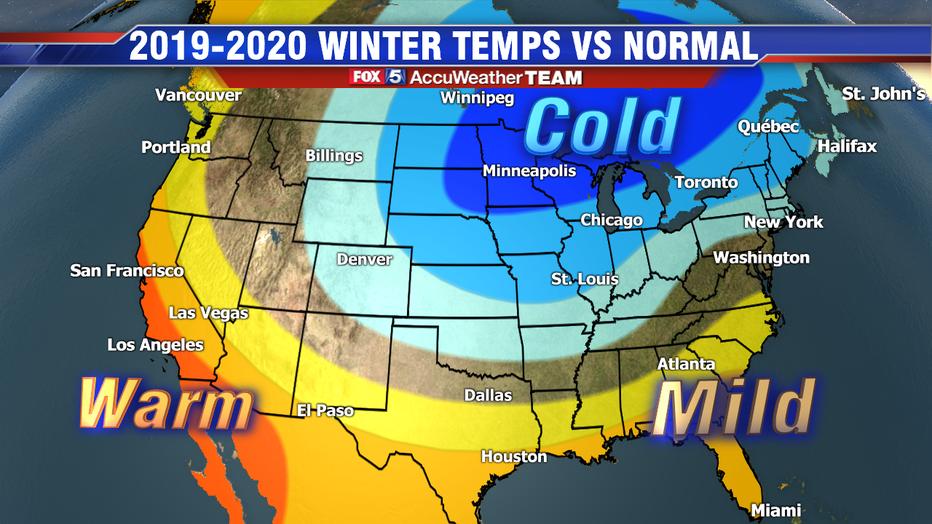 Winter 2020 Forecast Chicago.2019 2020 Dc Winter Forecast Periodic Polar Vortex Visits