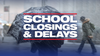 School closings and delays in the DMV