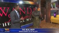 The Real MVP Wanda Durant visits FOX 5