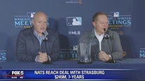 Nationals reach deal with Strasburg