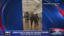 Woman assaulted during fight involving teens at Tenleytown Metro: police
