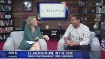 Singer TJ Jackson LIVE in the Good Day den