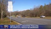 Fairfax County considering penalizing GPS shortcuts through neighborhoods