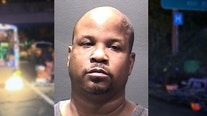 Driver accused of hitting I-66 highway workers in Arlington County has troubled past