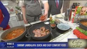 Making shrimp jambalaya with Chef Heineke
