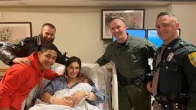 New Hampshire baby delivered along I-93 Christmas morning