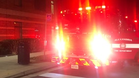 6-month-old infant rescued from Alexandria apartment fire