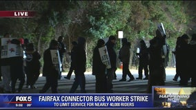 Fairfax Connector bus workers strike