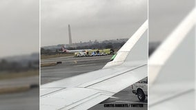 Reports of smoke in cabin prompts emergency evacuation of plane at Reagan National
