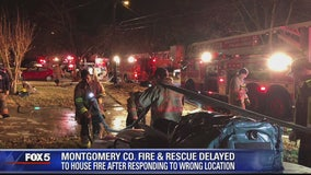 Montgomery County firefighters go to wrong address during Wheaton blaze