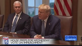 Trump lawyer says Democrats have no impeachment case