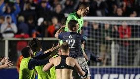 Georgetown wins NCAA title, beating Virginia on penalty kick