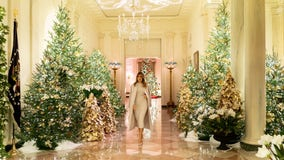 Photos: First lady Melania Trump unveils 2019 White House Christmas decorations