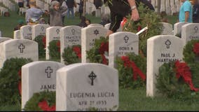 Wreaths Across America heading to Arlington National Cemetery, locations across US