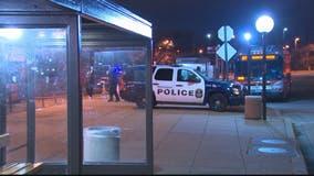 Shots fired, strike bus shelter at Anacostia Metro station