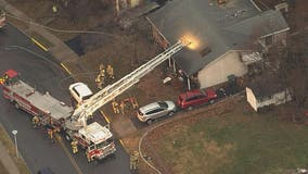 2 rescued from fire in Frederick