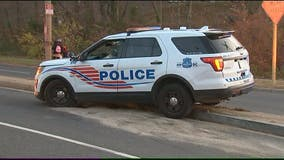 DC police officer involved in crash in Northwest