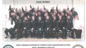 Apparent Nazi salute photo leads to suspensions in West Virginia agency