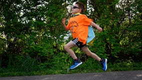 Boy, 9, runs 120 miles and raises more than $65K for children with cancer
