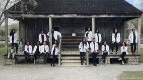 Black Tulane med students take powerful photo at former slave quarters: 'Resilience is in our DNA'