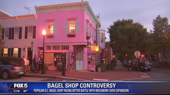 Zoning hearing scheduled Wednesday for DC bagel shop facing opposition to new Georgetown location