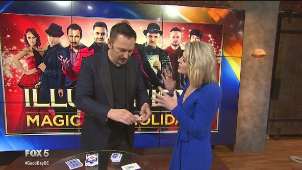 The Illusionists: Magic of the Holidays visits FOX 5