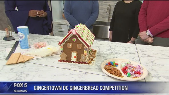 Gingertown DC gingerbread house competition