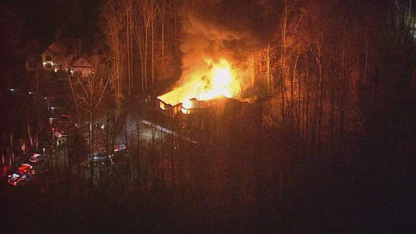 Fire rips through Upper Marlboro home