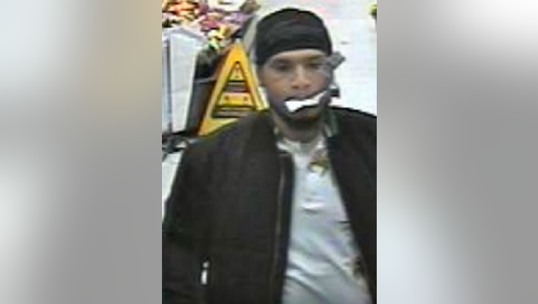 GIANT ARMED ROBBERY SUSPECT