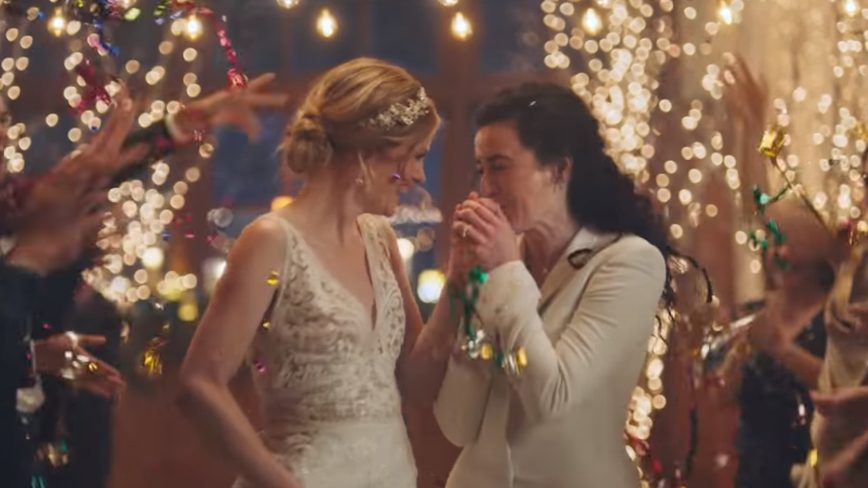 Hallmark pulls Zola commercial of same-sex couple after pressure from conservative group