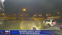 Avoiding vehicle thefts in the winter months