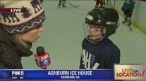 Hockey fun at the Ashburn Ice House