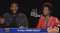 Tyler Perry, Crystal Fox talk A Fall From Grace
