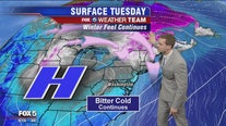 January chill continues with dry skies, temps in the 30s; Saturday likely to bring rain to DC region