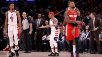 Wizards' Isaiah Thomas ejected less than 2 minutes into game after contact with official