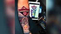 Former Nat Gerardo Parra gets 'Baby Shark' tattoo