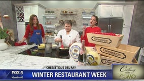 Cooking with Como: Winter Restaurant Week with Cheesetique Del Ray