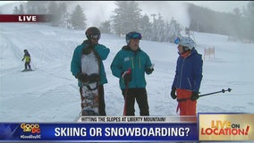 Should you choose skiing or snowboarding?